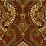 LWP60716W Castlehead Paisley Coffee by Ralph Lauren