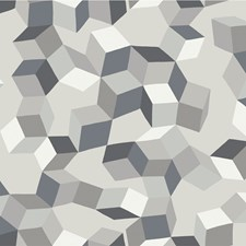Black and White Print Wallcovering by Cole & Son