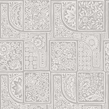 Grey/White Print Wallcovering by Cole & Son